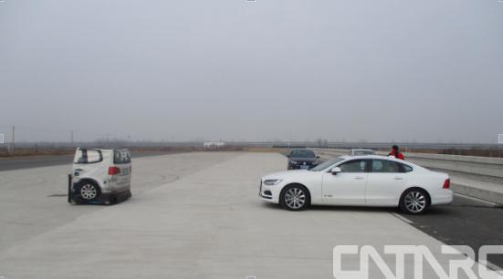 智能网联汽车目标物雷达识别比对能力测试项目在盐城